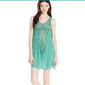 O'Neill Women's Sophie Cover Up Dress Small Ale.